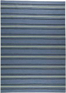 MA Trading Handmade Savannah Rug (India) Blue 5'6