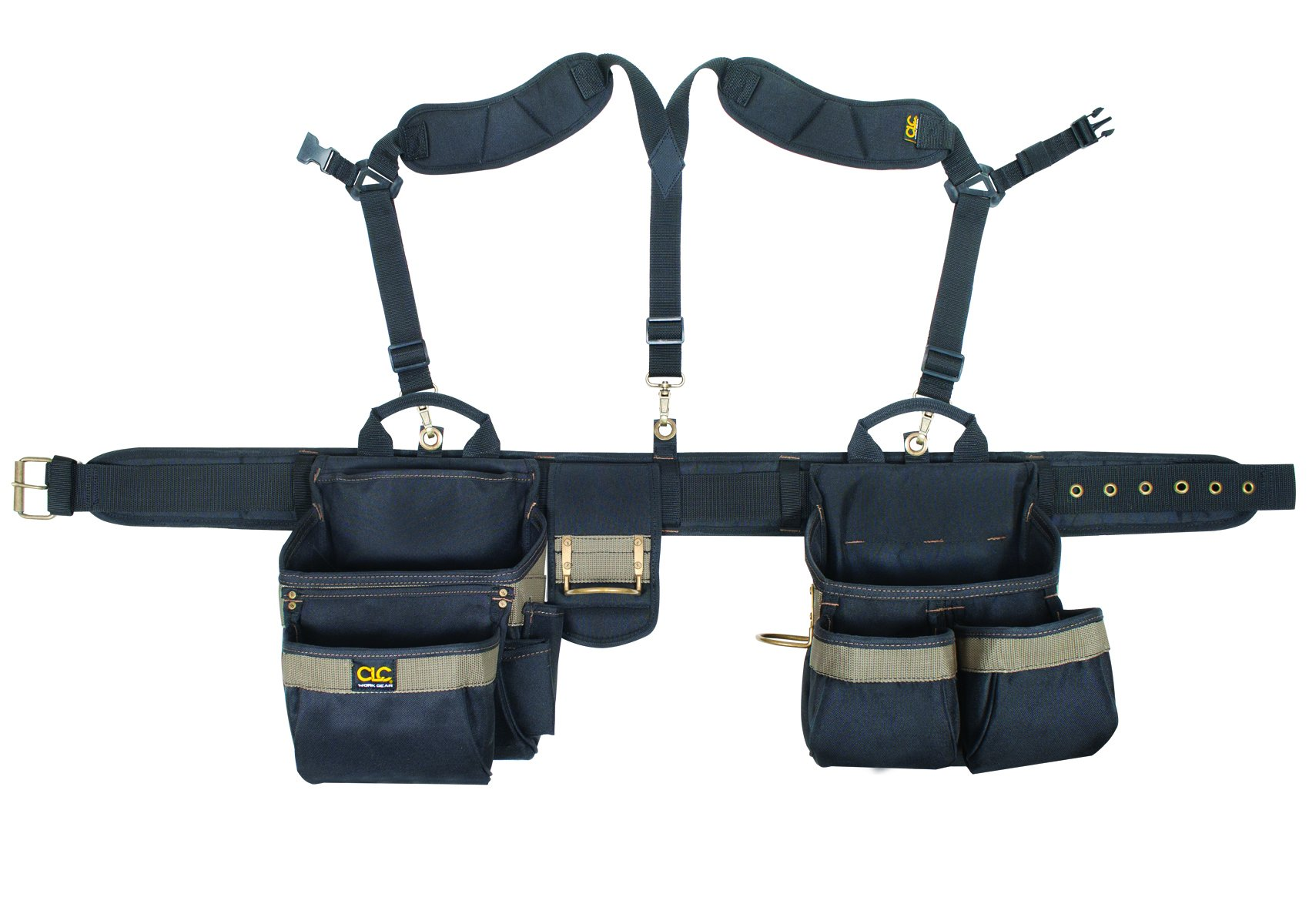 CLC Custom Leathercraft 1614 20 Pocket, Heavy Duty Tool Belt