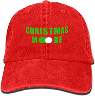 Camping Hair Christmas Mode Unisex Adult Adjustable Cowboy Dad Hats