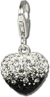 Silberdream Sterling plata charm collar 100cm fc00281-1