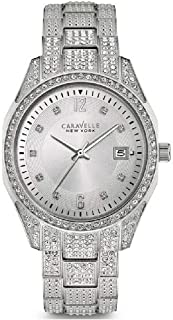 Caravelle New York Women's 43M112  Swarovski Crystal Pave Watch