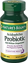nature's bounty probiotic 100 million