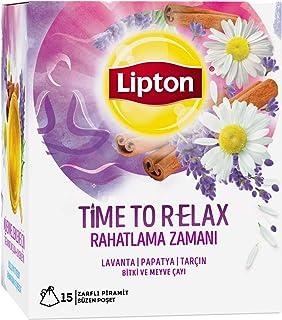 Lipton Rahatlama Zamanı Bardak Poşet Bitki Çayı 15'Li