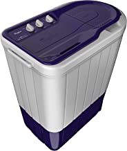 Whirlpool 6 kg Semi-Automatic Top Loading Washing Machine (SUPERB ATOM 6.0, Purple, TurboScrub Technology)