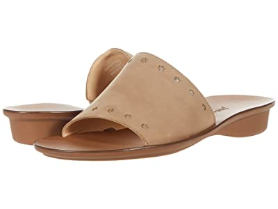 Paul Green Crosby Slide (Sisal Oro Combo) Women