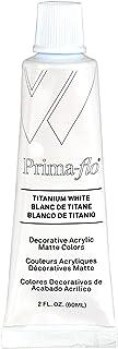 Weber Primaflo Acrylic Matte, 60ml, Titanium White