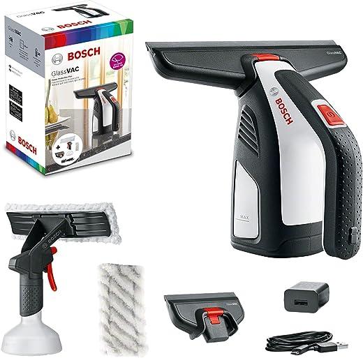 Nettoyeur de vitres sans-fil Bosch - GlassVac Edition Set (Livré avec ses accessoires et emballage en carton)