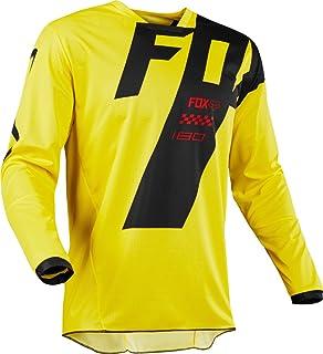 Fox Jersey 180mastar, Yellow, tamaño XL