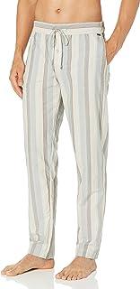 Hanro Men's Night and Day Woven Lounge Pant Pajama Bottom