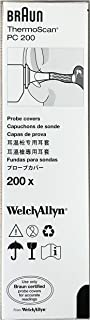 Box 200pcs, Thermoscan PC 200 Braun Probe Covers for Pro 4000 Thermometer