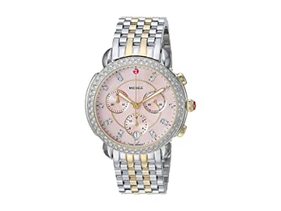Michele Sidney MWW30A000047 (Two-Tone/Desert Rose Mother-of-Pearl Dial) Watches