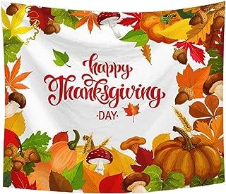 Rtudan Happy Thanksgiving Decorations,Thanksgiving Banner,59