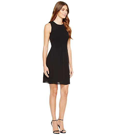 Ivanka Trump Top Flare Sleeveless and Smocking Fit Georgette wT1rqdw
