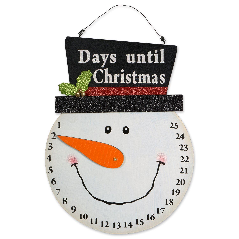 Image of Decorative Snowman Advent Calendar