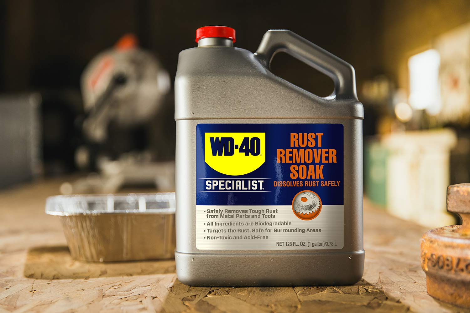 wd-40 rust remover