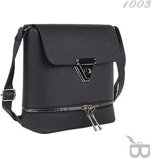 42d37112e55b9 Amazon.com.tr: Siyah - Çapraz Askılı Çanta / El Çantası: Moda