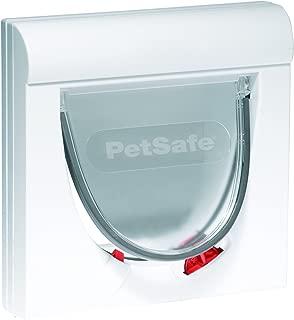 PetSafe Staywell Classic Magnetic Cat Flap, 4-Way Locking Pet Door