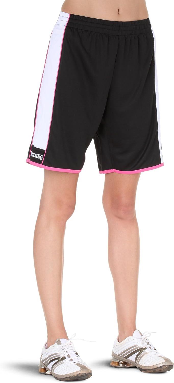 Spalding 4her Shorts Black White Pink