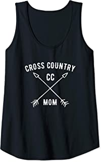 Womens Cross country XC mom support your track and field champion Tank Top