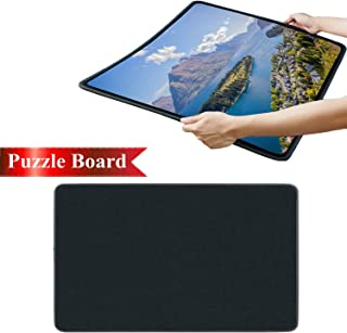 Puzzle Board Jigsaw Mat Smooth Puzzle Plateau Functional Sturdy Portable Board Work Separate Movable Jigsaw Puzzle Board up to 1000 Pieces by Ditome