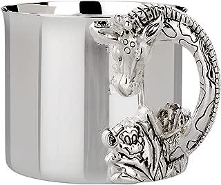 Reed & Barton Silver Plate Giraffe Baby Cup