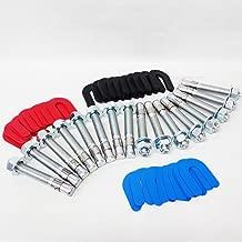 Auto Car Lift Installation install Kit -16 Wedge Anchor Bolts & 30 pack shim kit