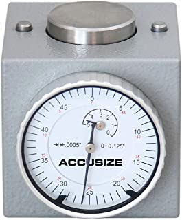 Accusize Industrial Tools Z Axis Zero Setting 0-0.125'' by 0.0005'', 2'' Height Magnetic, 2124-2001