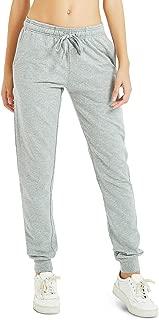 "30""/32""/34"" Inseam Tall Regular Women Casual Sweatpants, Cotton Jogger Pants, 3 Pockets"
