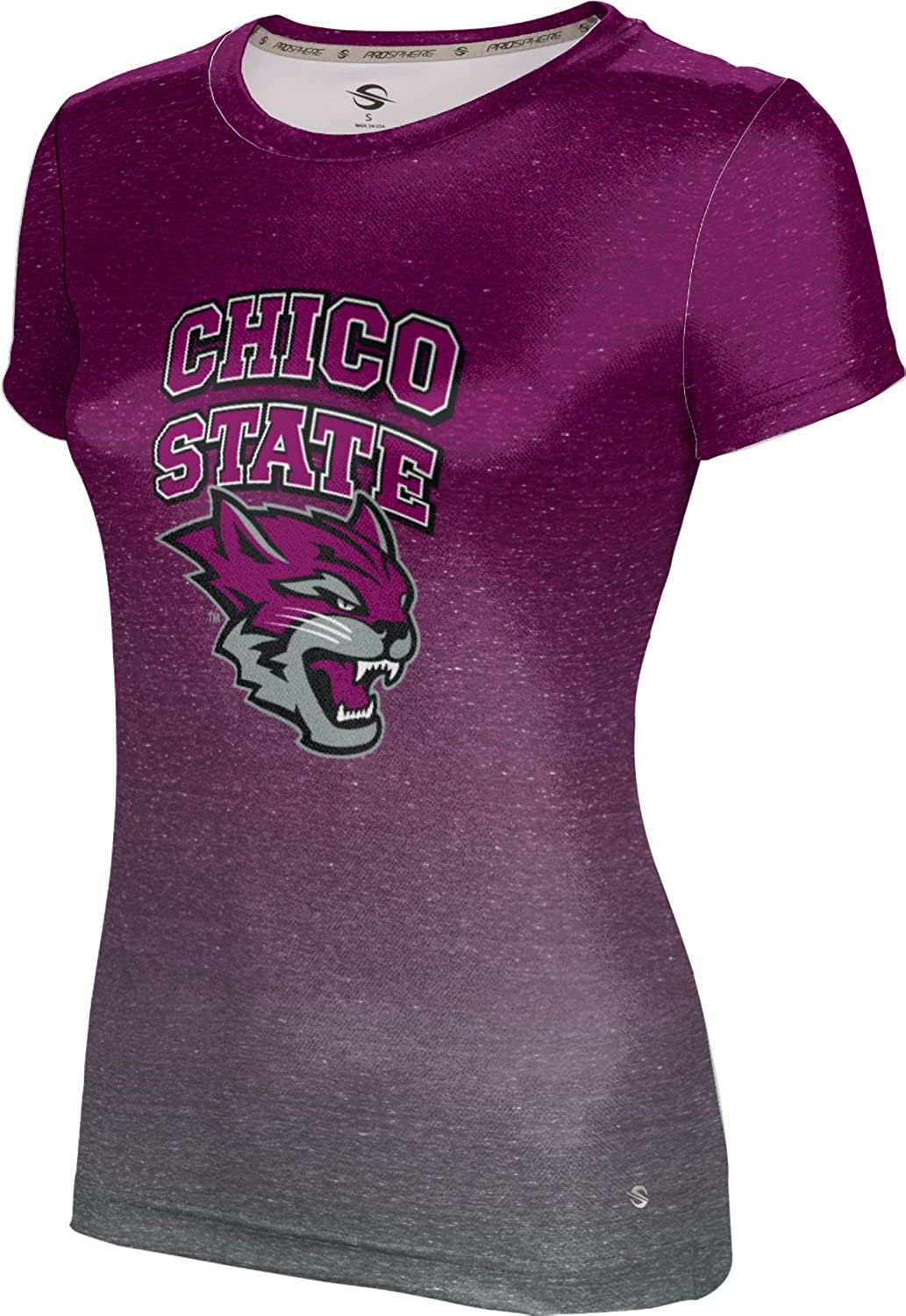 ProSphere California State University Chico Girls' Performance T-Shirt (Ombre)