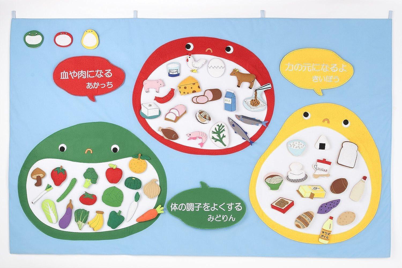 Food Education nutrition mat three bredhers (japan import)