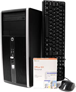 HP Pro Tower Computer - Intel Quad Core i5 3.1GHz, 16GB RAM, 2TB Hard Drive, Microsoft Windows 10 Professional, Microsoft ...