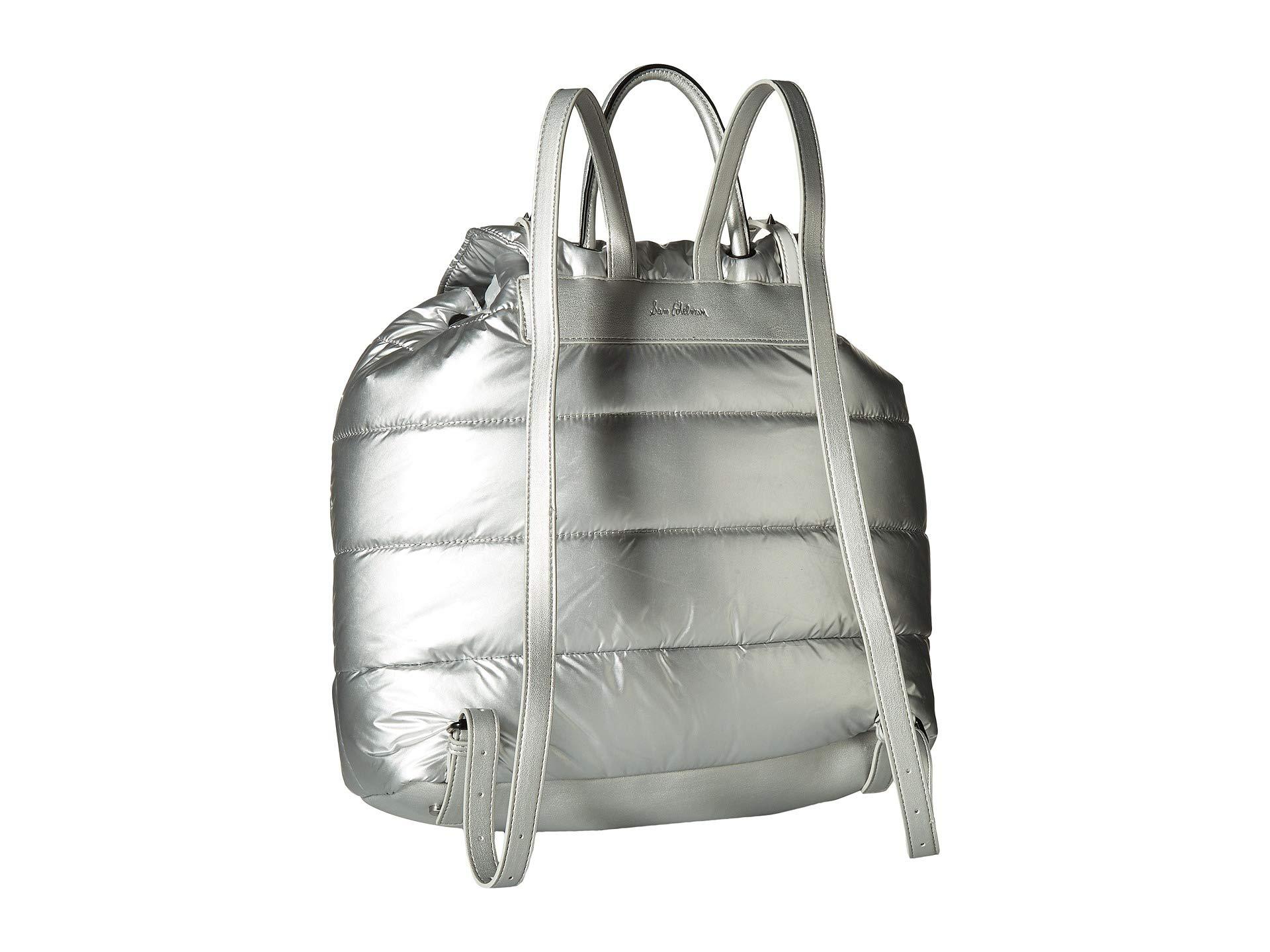Branwen Edelman Backpack Silver Nylon black Sam x5q1gwx