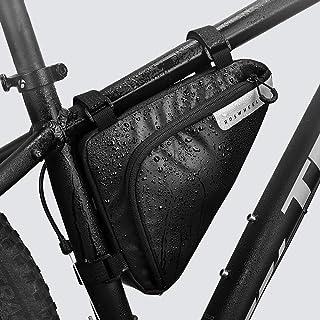 d65fe2260f7 Roswheel Bolso de Bicicleta Triangle/Bolsa Frontal de Tubo para Bicicleta  Impermeable/Alforjas Delantera