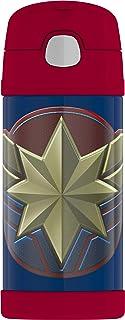 Thermos Funtainer Botella de 354.88 ml, Capitán Marvel, 12