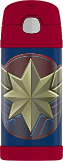 Thermos F4019CP6 Captain Marvel 12oz bottle, 12 Ounce