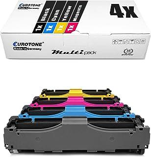 4X Eurotone Toner für Canon I Sensys LBP 7200 7210 7660 7680 c cx cn CDN CDN ersetzt 718