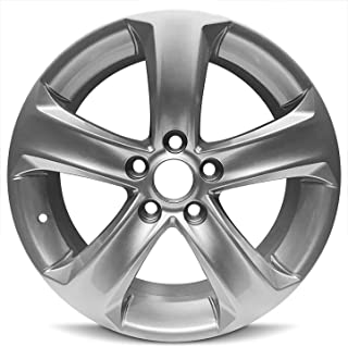 Road Ready Car Wheel For 2013-2015 Toyota Rav4 17 Inch 5 Lug Gray Aluminum Rim Fits R17 Tire - Exact OEM Replacement - Full-Size Spare
