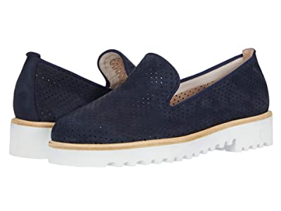 Paul Green Cailey Loafer (Space Nubuck) Women