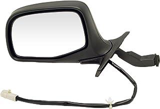 Dorman 955-267 Driver Side Power Door Mirror - Folding for Select Ford Models, Black