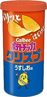Calbee 薯片 薄盐味 50克×12罐
