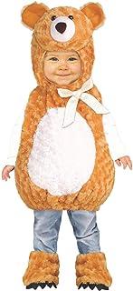 Fun World Teddy Bear Costume, Small, Multicolor