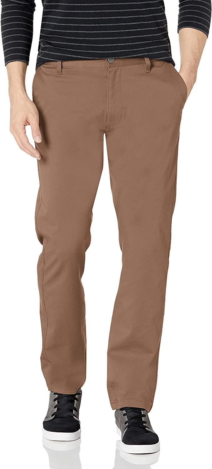 RVCA Men's The Weekend Stretch Chino Pant: Clothing