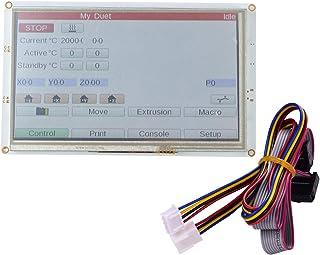 Walory 7 Pulgadas, Panel táctil integrado de 7 pulgadas PanelDue 7i Pantalla LCD a color integrada Controlador de pantalla...