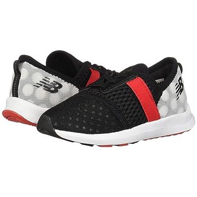 New Balance Kids NRGv1 Minnie Rocks the Dots (Infant/Toddler) (Black/Red) Girls Shoes