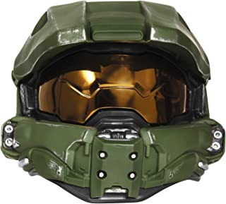 Disguise Men's Master Chief Adult Light-up Deluxe Helmet