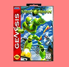 Vector Man 16 Bit Md Game Card With Retail Box For Sega Genesis & Mega Drive
