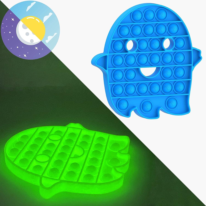 ZENYULL Popular Push Bubbles Pop Fluorescent Glow Toy Max 79% OFF Fidget in Sensory