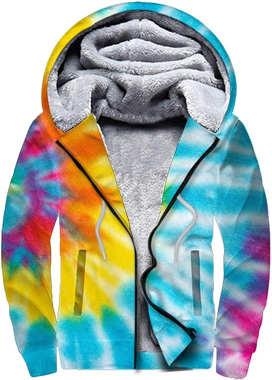 Men'S Fleece Hoodie Pullover 1 year warranty Winter Max 50% OFF Full Jackets Workout Zip War