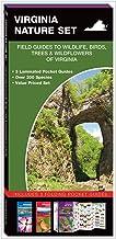 Virginia Nature Set: Field Guides to Wildlife, Birds, Trees & Wildflowers of Virginia