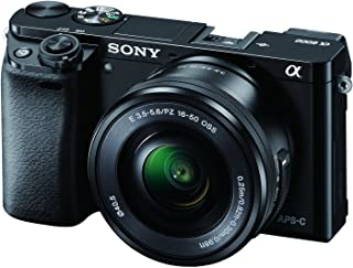 Sony Alpha a6000 with 16-50mm Lens, Mirrorless Camera, Black